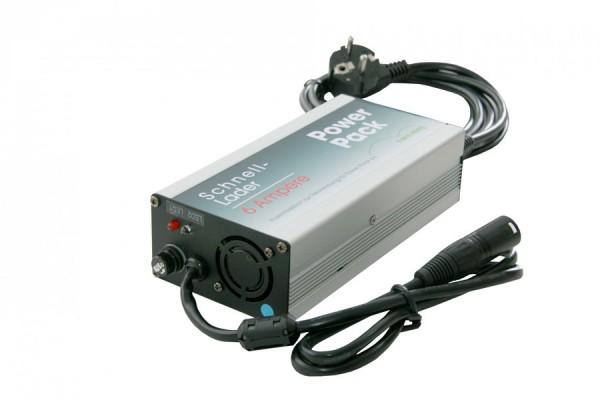 Akku Schnell-Ladegerät 6A für E-Bike Vision Powerpack