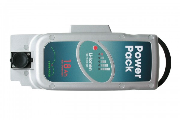 PowerPack 26V 18Ah Panasonic Pedelec Akku Ersatz für Front-/Mittelmotor