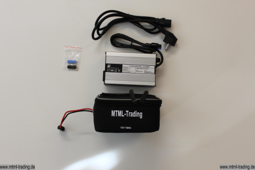 Golf Trolley/Caddy LiFePo4 Battery + Charger 12V 19Ah