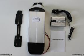 Gepäckträgerakku LiFePo436V10AhmitControllergehäuse