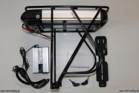 Gepäckträgerakku LiFePo436V10AhmitControllergehäuseinkl.Gepäckträger