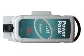 PowerPack 26V 25Ah Panasonic Pedelec Akku Ersatz für Front-/Mittelmotor
