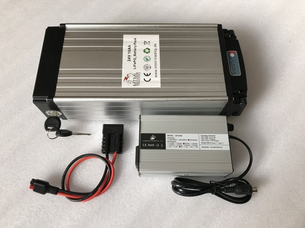 Rear Carrier Battery LiFePo4 24V 10Ah