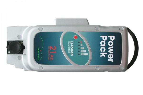 NICHT MEHR LIEFERBAR!!! PowerPack 26V 21Ah Panasonic Pedelec Akku Ersatz für Front-/Mittelmotor
