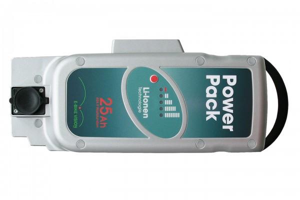NICHT MEHR LIEFERBAR!!! Power Pack 26V 25Ah Panasonic Pedelec Akku Ersatz für Front-/Mittelmotor